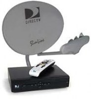directv dish with recvr