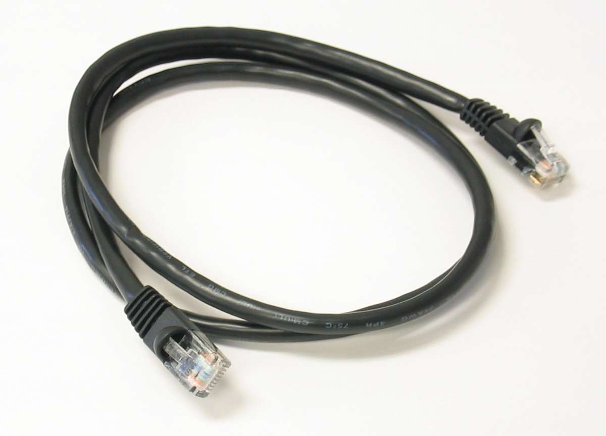 CAT5e Patch Cable, 350 MHz, 7'